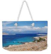 Ftenagia Beach On Halki Weekender Tote Bag