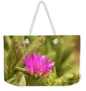 Fuchsia Bloom Weekender Tote Bag