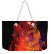 Fuego Weekender Tote Bag by M Montoya Alicea