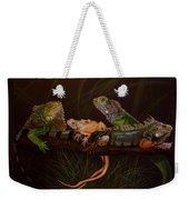 Full House Weekender Tote Bag by Barbara Keith