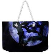 Full Moon Bats Weekender Tote Bag