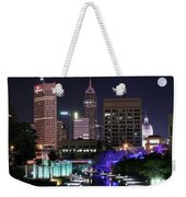 Full Moon Over The Canal Weekender Tote Bag