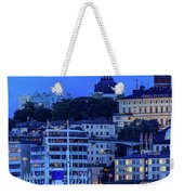 Full Moon Over The Katarina Church And Sodermalm In Stockholm Weekender Tote Bag