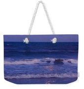 Full Moon Over The Ocean Weekender Tote Bag