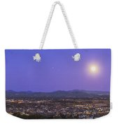 Full Moon Rising Over Silver City, New Weekender Tote Bag