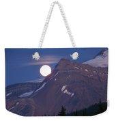 Full Moon Over The Rockies Weekender Tote Bag