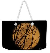 Full Moon Through The Branches Weekender Tote Bag