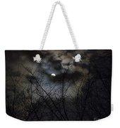 Full Moon With Clouds Weekender Tote Bag