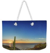 Full Moon With Shooting Star Weekender Tote Bag