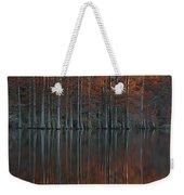 Full Of Glory - Cypress Trees In Autumn Weekender Tote Bag