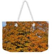 Full On Orange Weekender Tote Bag