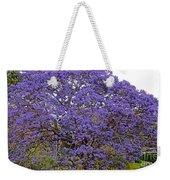 Full On Purple Weekender Tote Bag