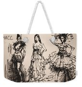 Fun At Art Of Fashion At Nacc 3 Weekender Tote Bag