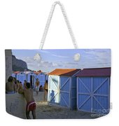 Fun At Mondello Beach Weekender Tote Bag