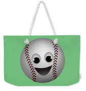 Fun Baseball Character Weekender Tote Bag
