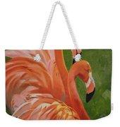 Fun Flamingos Weekender Tote Bag