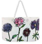 Four Flowers  Weekender Tote Bag