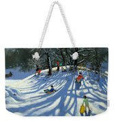 Fun In The Snow Weekender Tote Bag