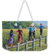 Girls Can To Weekender Tote Bag