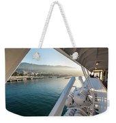 Funchal By The Ship Weekender Tote Bag