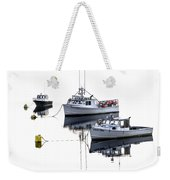 Fundy Morning - Carrie And Kayla - Logan Anne Weekender Tote Bag