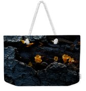 Fungus On Log Weekender Tote Bag