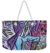Funk Soul Brother Weekender Tote Bag