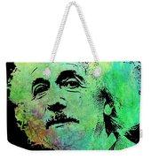 Funky Einstein  Weekender Tote Bag