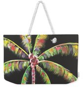 Funky Palm Tree Weekender Tote Bag