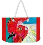 Funky Rooster Weekender Tote Bag