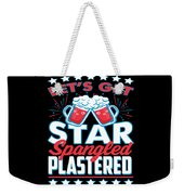 Funny Alcohol Fireworks Fourth July Gift 4th July Independence Day Weekender Tote Bag