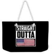 Funny American Flag Fourth July Gift 4th July Independence Day Weekender Tote Bag