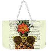 Funny And Cute Pineapple Art Weekender Tote Bag