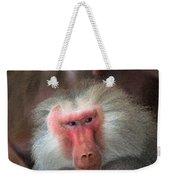 Funny Baboon Weekender Tote Bag