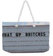 Funny Billboard  Weekender Tote Bag