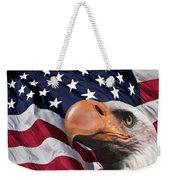 Funny Flag Weekender Tote Bag