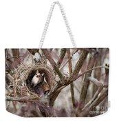 Funny Little Bird Weekender Tote Bag