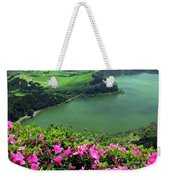 Furnas Lake Azores Weekender Tote Bag