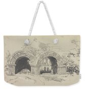 Furness Abbey East  29 August 1836 By Edward Lear  1836 Weekender Tote Bag