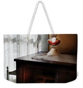 Furniture - Lamp - I Used To Write Letters  Weekender Tote Bag by Mike Savad