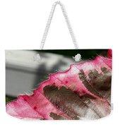 Furry Leaf Weekender Tote Bag