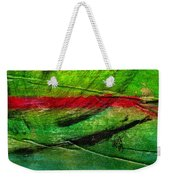 Further Down The River Weekender Tote Bag