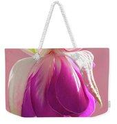Fuschia Petals Weekender Tote Bag