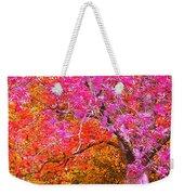 Fuschia Tree Weekender Tote Bag