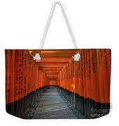 Fushimi Inari Taisha Shrine In Kyoto, Japan Weekender Tote Bag