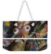 Fusion II - Diptych Weekender Tote Bag