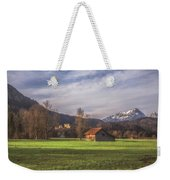 Fussen Mountain Scene Weekender Tote Bag