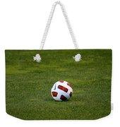 Futbol Weekender Tote Bag by Laddie Halupa