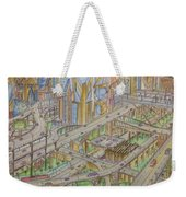 Future City After 50 Years Weekender Tote Bag