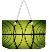 Futuristic Abstract Weekender Tote Bag